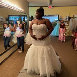 Front Of Wedding Dress